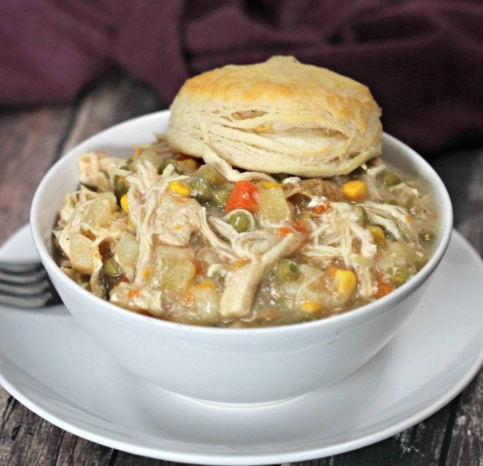 Instant Pot Chicken Pot Pie