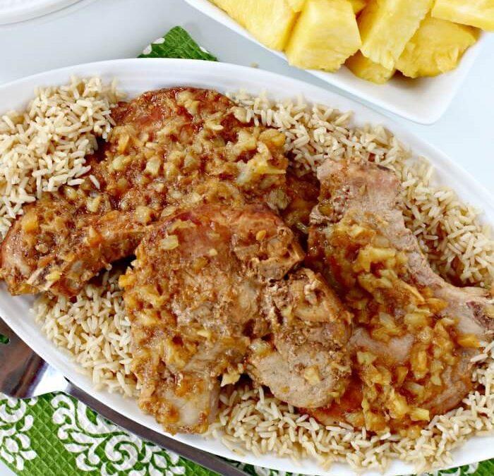 Instant Pot Teriyaki Pork Chops
