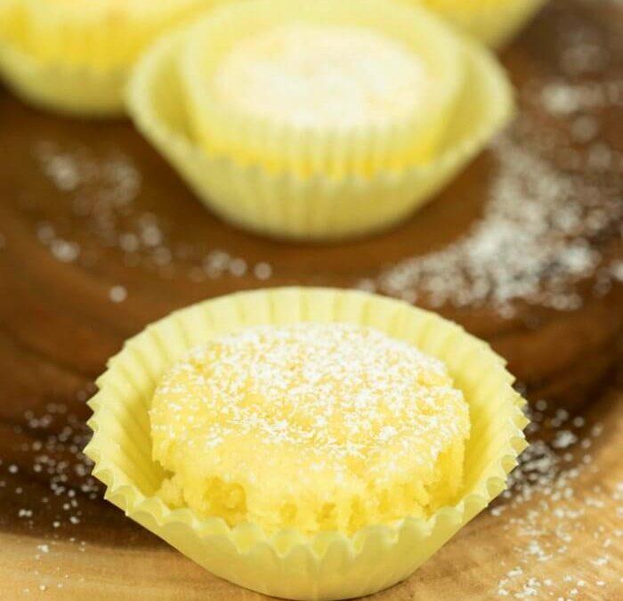 Low Calorie Lemon Cupcakes
