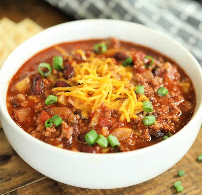 Instant pot Beef and Vegetable Chili