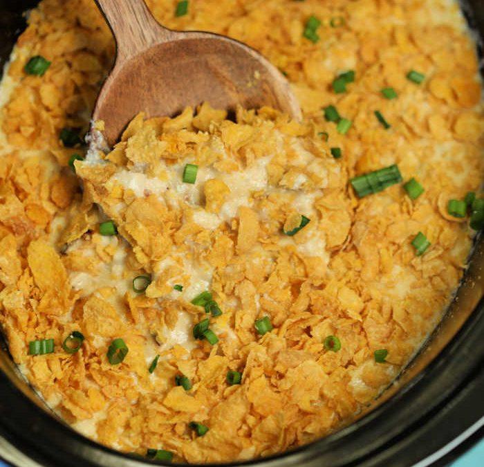 Instant Pot Chicken Hashbrown Casserole