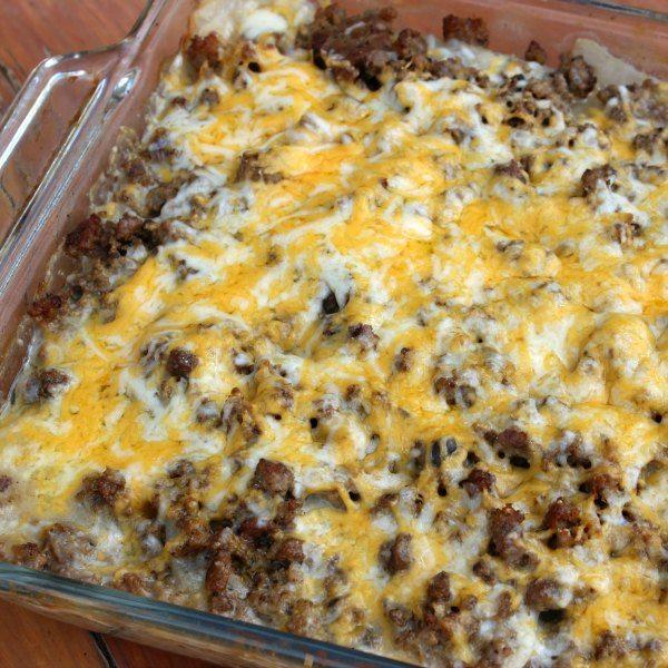 Crock Pot Hamburger Potato Casserole