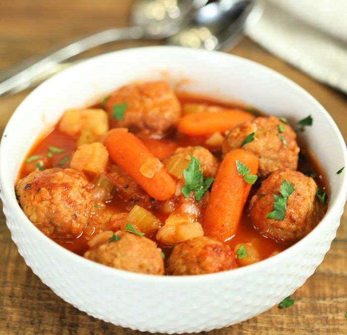 Instant Pot Meatball Stew