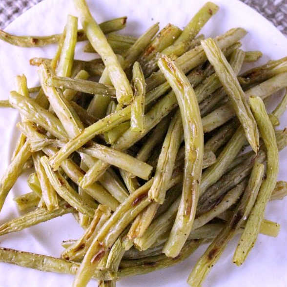 Delicious Roasted Green Beans