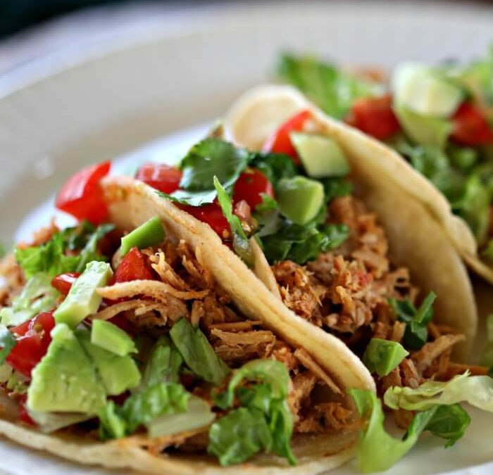 Crock Pot Pulled Pork Tacos