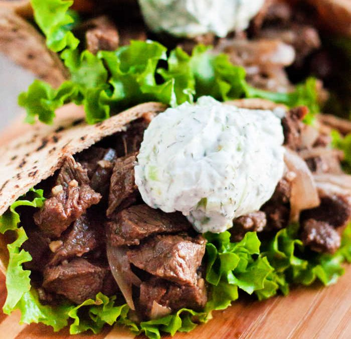 Instant Pot Beef Gyros