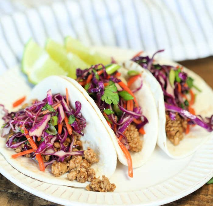 Instant Pot Ginger Chicken Tacos