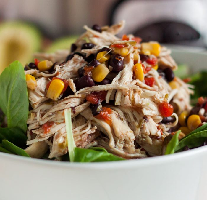 Instant Pot Santa Fe Chicken Salad