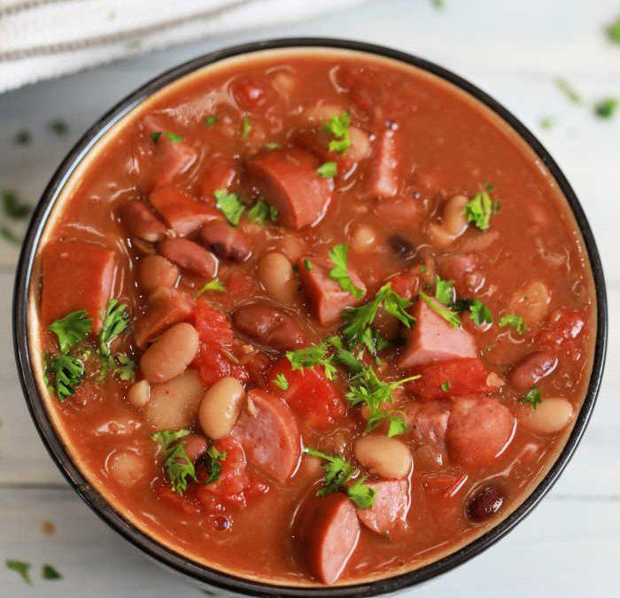 Instant Pot 15 Bean Soup with Sausage