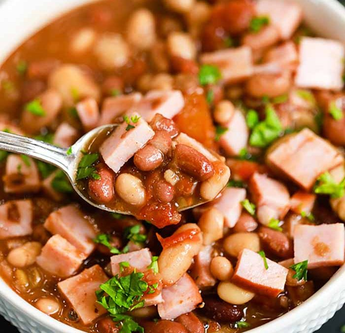 Crock Pot 15 Bean Soup with Ham