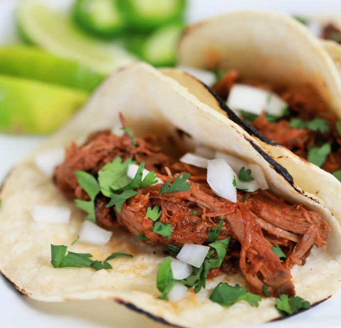 Instant pot Chipotle Beef Tacos