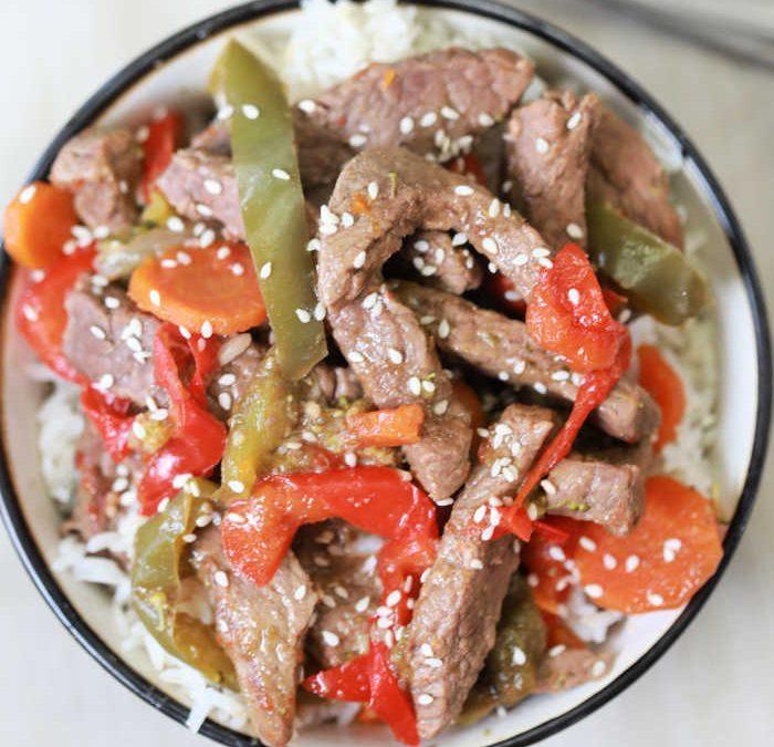 Crock Pot Beef Stir Fry