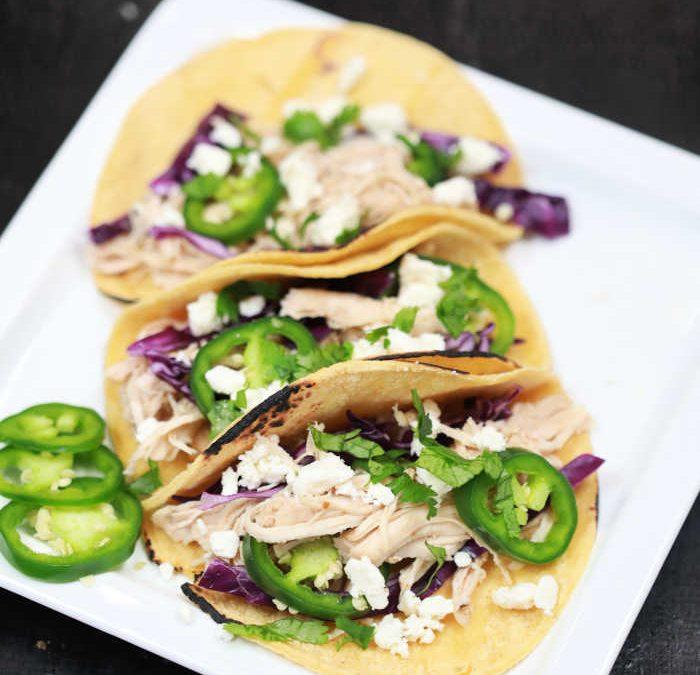 Instant Pot Baja Chicken Tacos