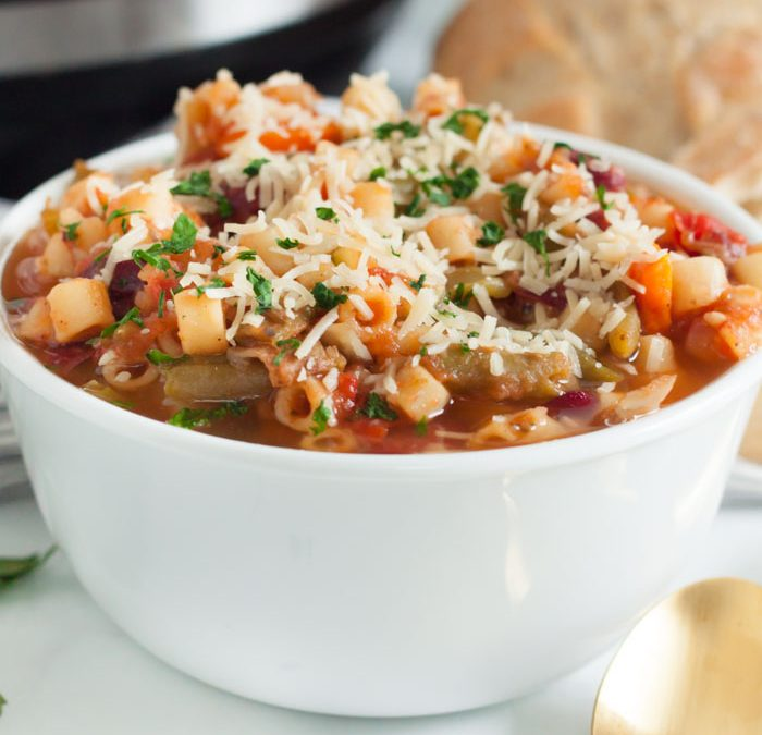 Crock Pot Minestrone Soup Recipe