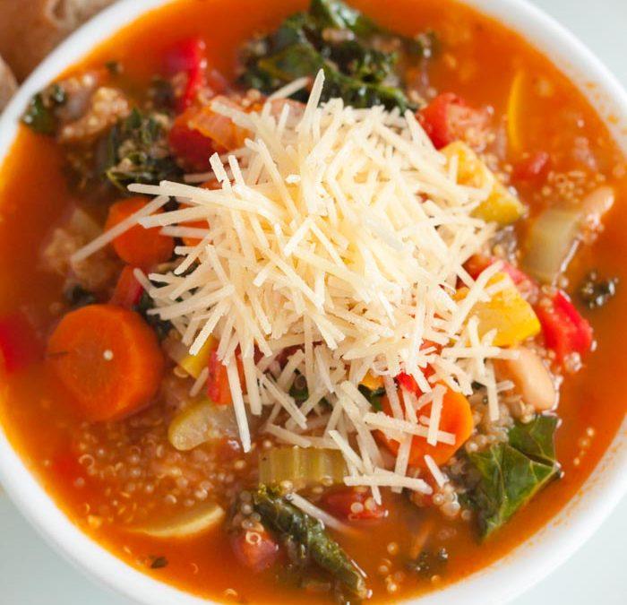 Instant Pot Quinoa Soup