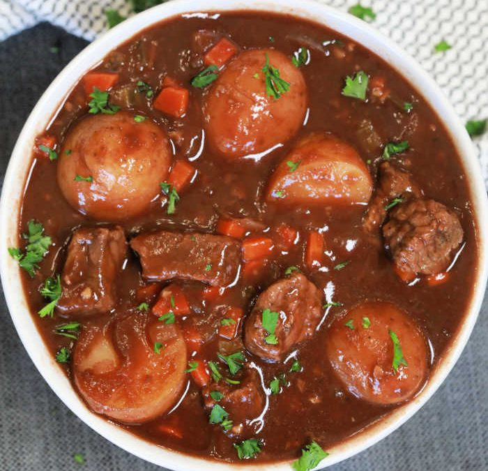 Instant pot Balsamic Beef Stew