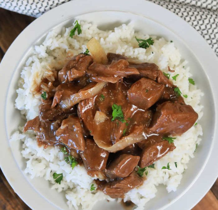 Instant Pot French Onion Beef