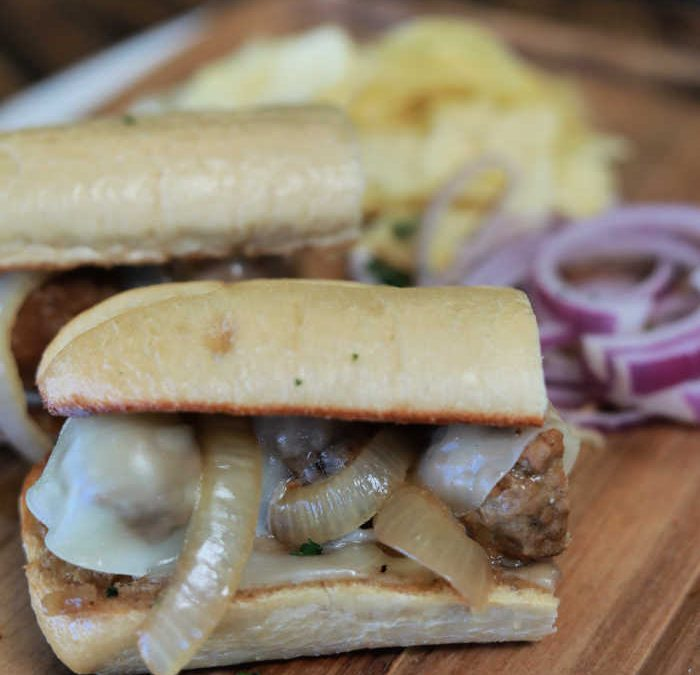 Instant Pot French Onion Meatball Subs