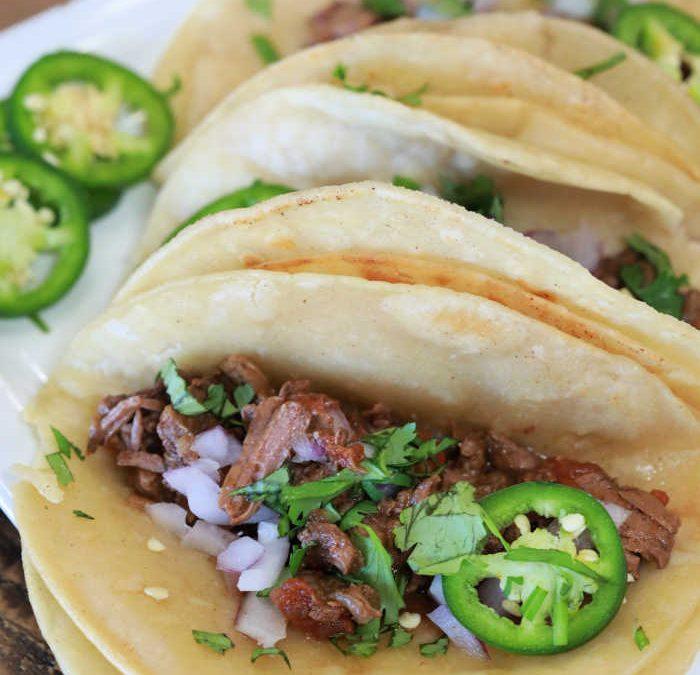 Instant pot Tex Mex Street Tacos