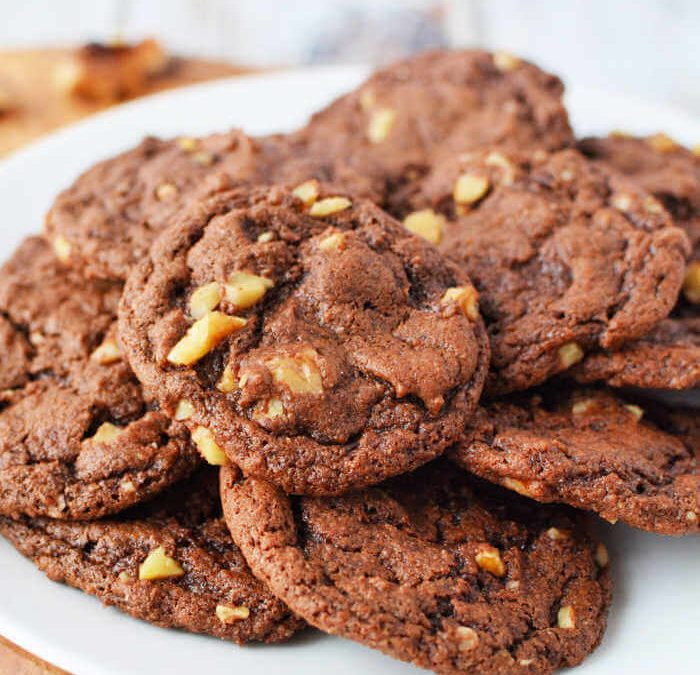 Moist and Rich Brownie Cookies