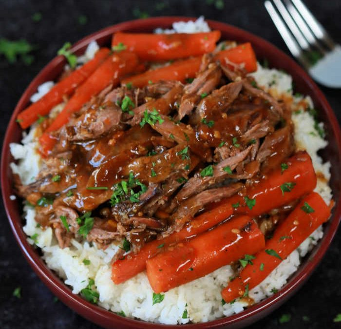 Crock Pot Orange Glazed Pot Roast