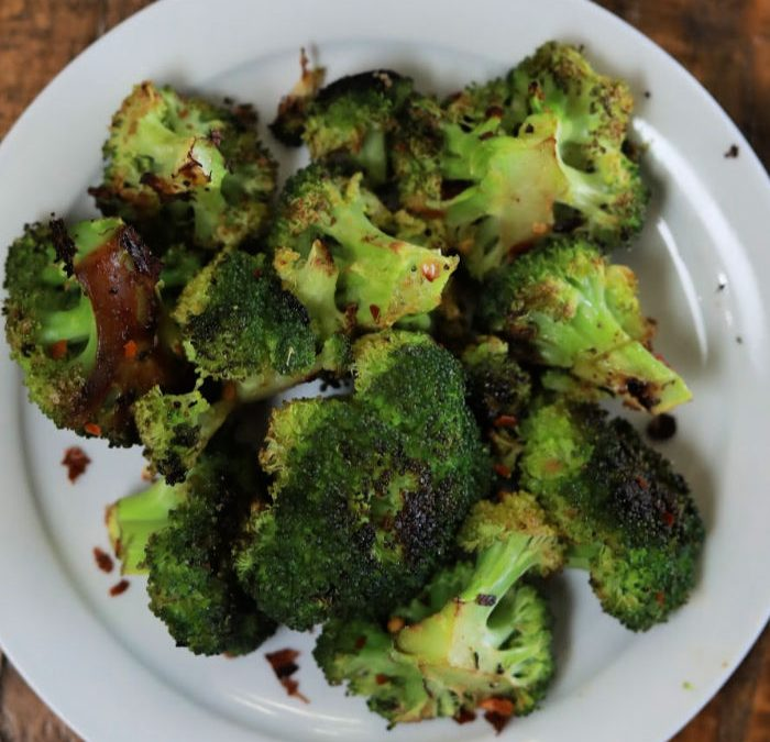 Roasted Spicy Broccoli