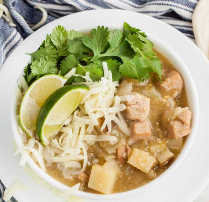 Crock pot Green Chili Stew Recipe