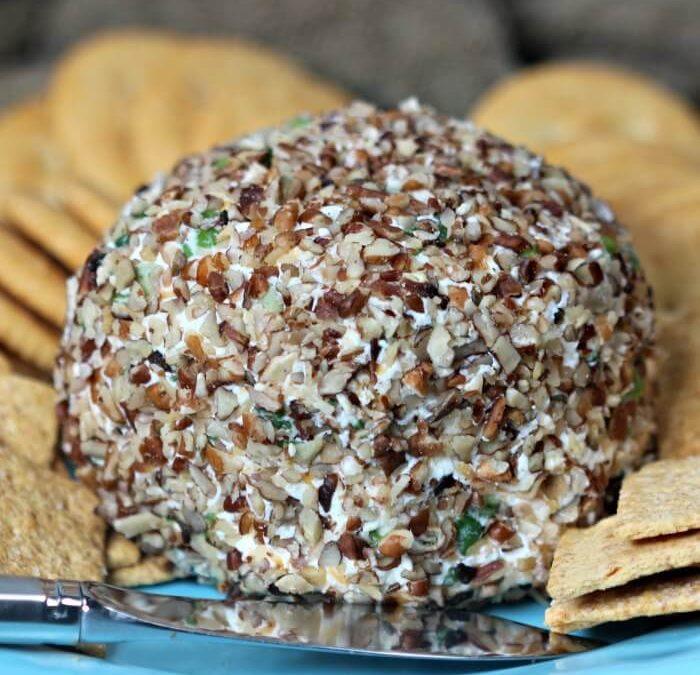 Garlic and Onion Cheddar Cheese Ball Recipe