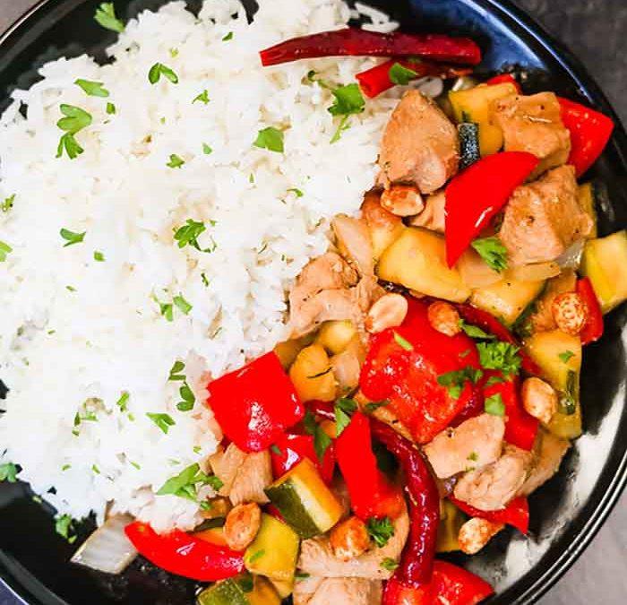 Crock pot Kung Pao Chicken