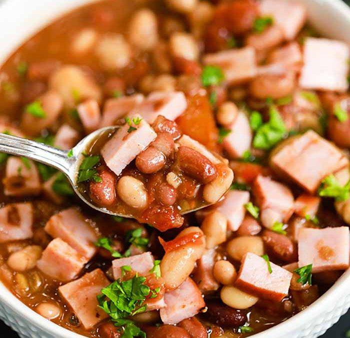 Instant Pot 15 Bean Soup with Ham