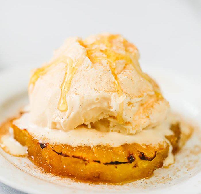 Baked Pineapple Dessert