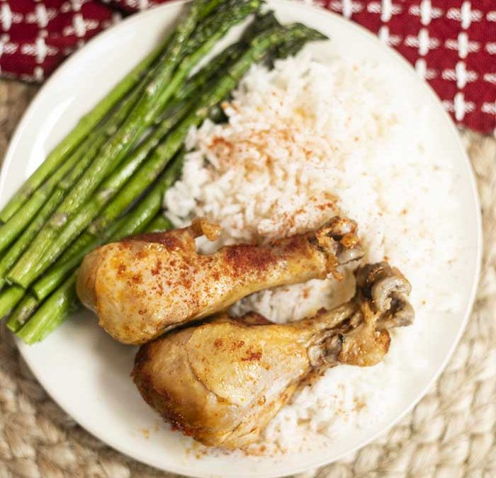 Crock Pot Smoked Paprika Drumsticks