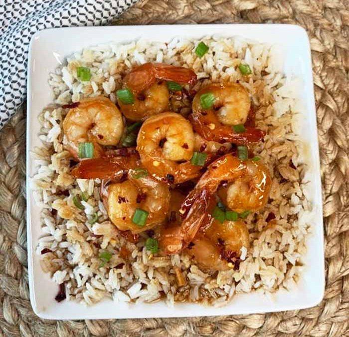 Instant pot Firecracker Shrimp