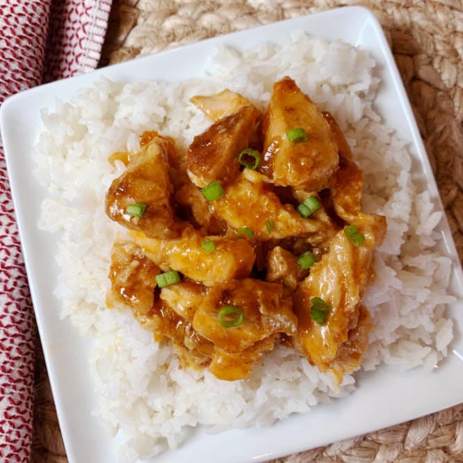 Crock pot French Apricot Chicken