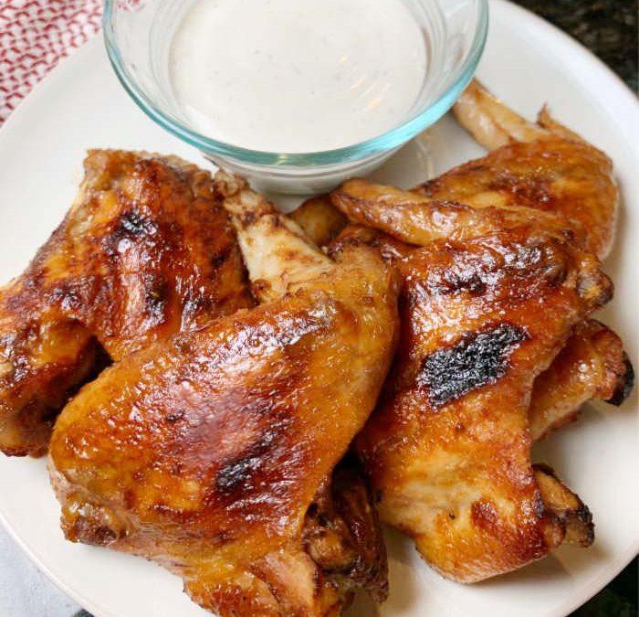 Crock Pot Honey Barbecue Chicken Wings