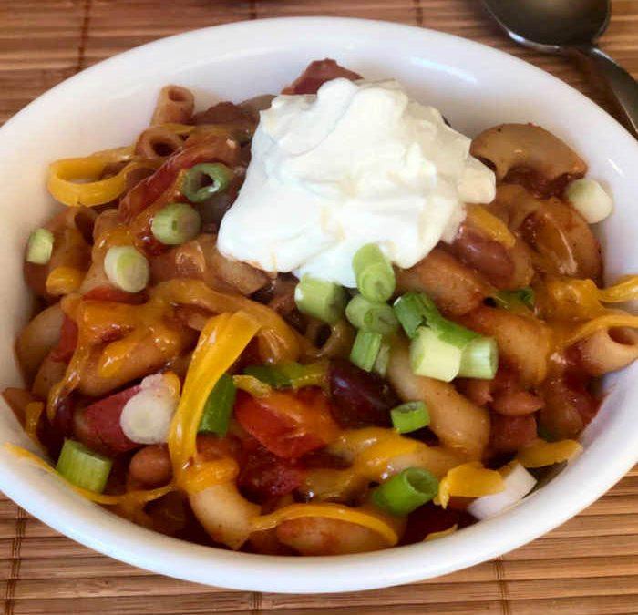 Instant Pot Veggie Chili Mac