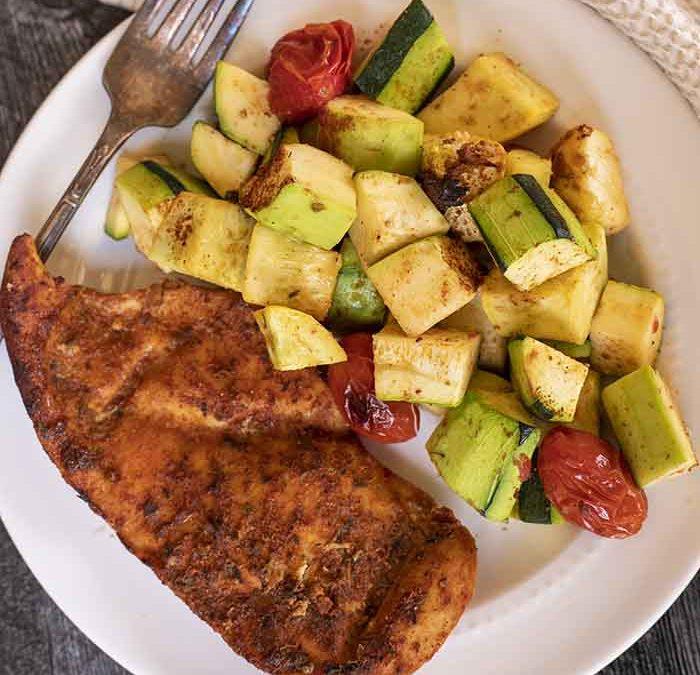 Instant Pot Spicy Chicken with Veggies