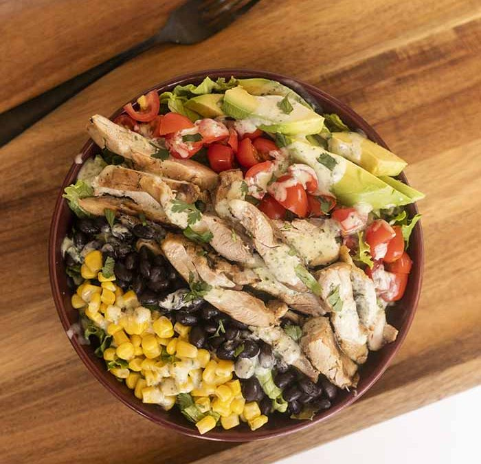 Instant Pot Southwest Chile Lime Chicken Salad