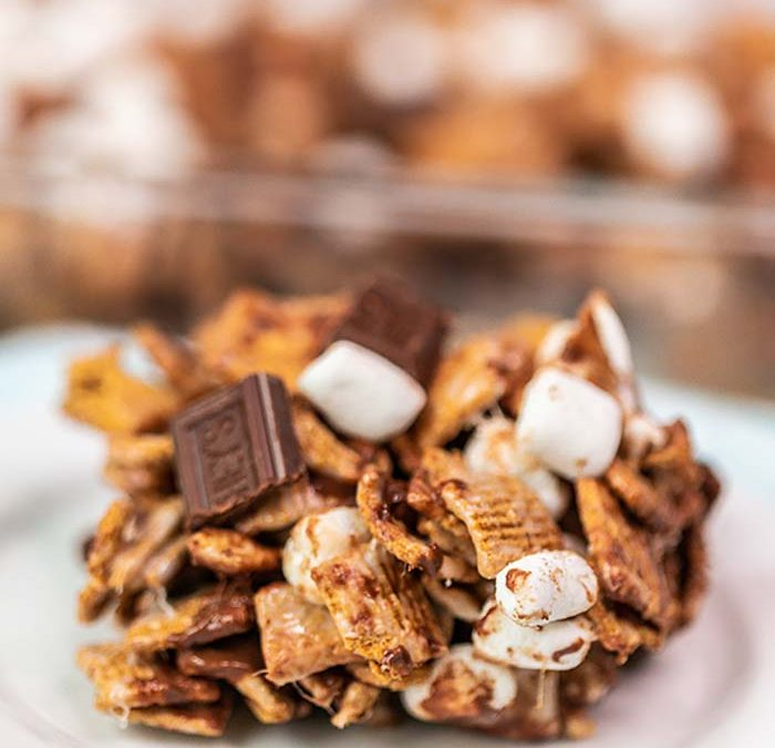 Golden Graham S'mores Bar recipe