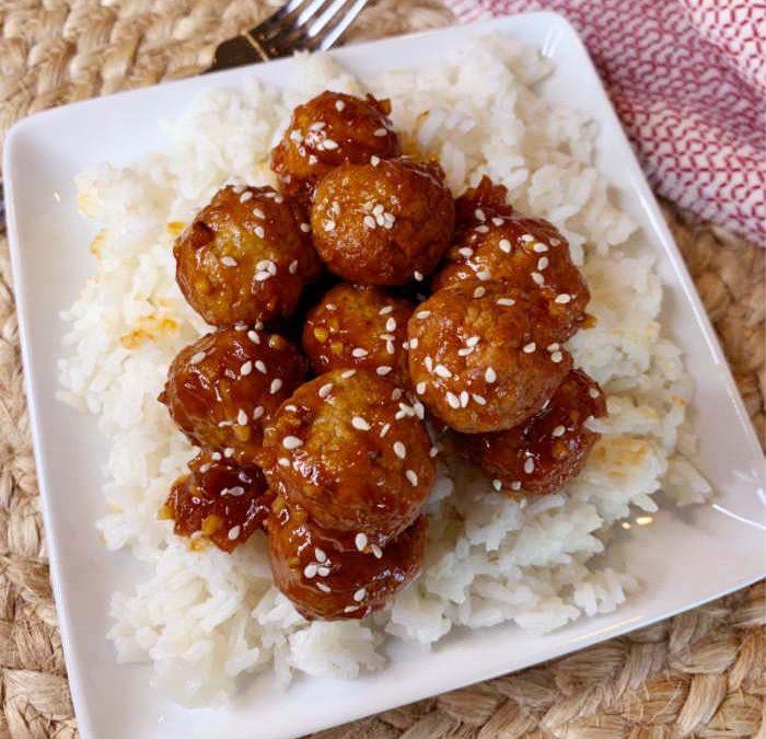 Instant Pot Hawaiian Teriyaki Meatballs