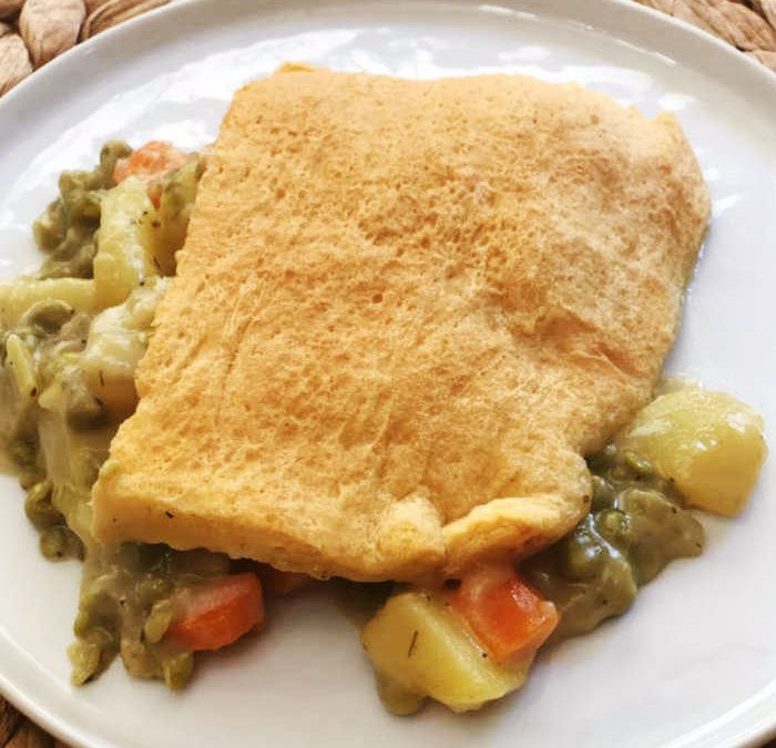 Instant Pot Veggie Pot Pie