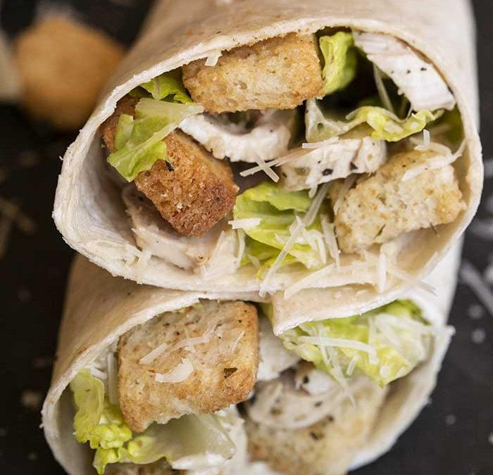 Instant pot Caesar Wraps