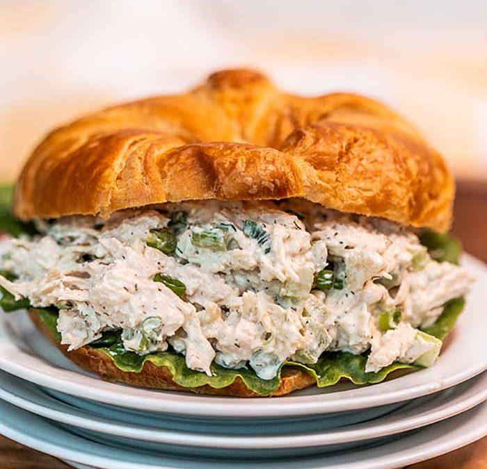Instant pot Chicken Salad Sandwiches