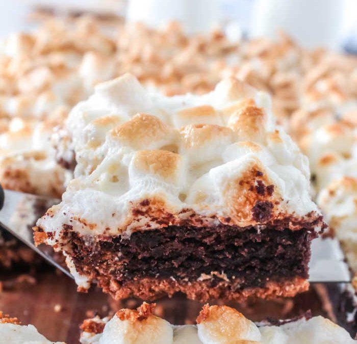 Smores Brownies