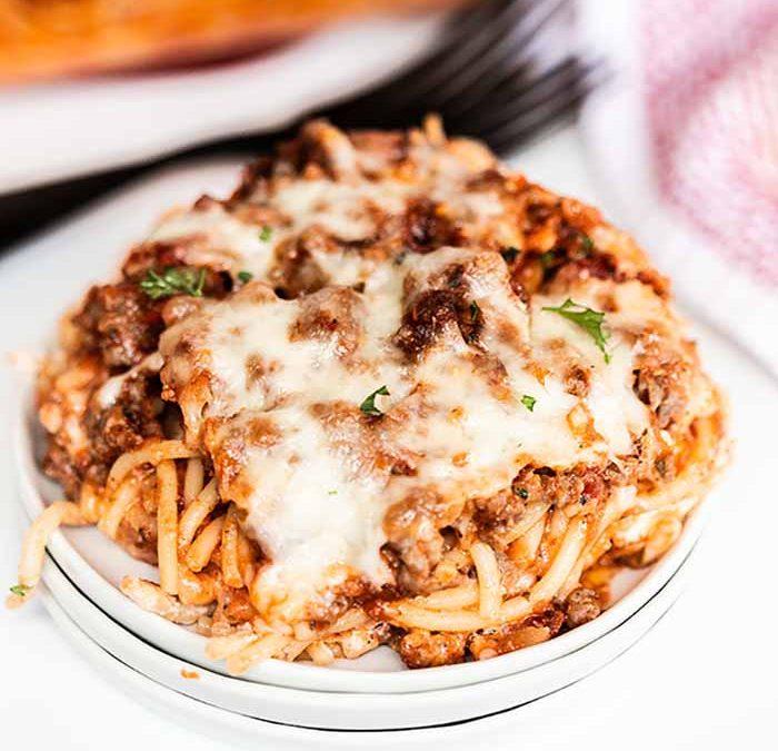 Crock Pot Million Dollar Spaghetti Casserole