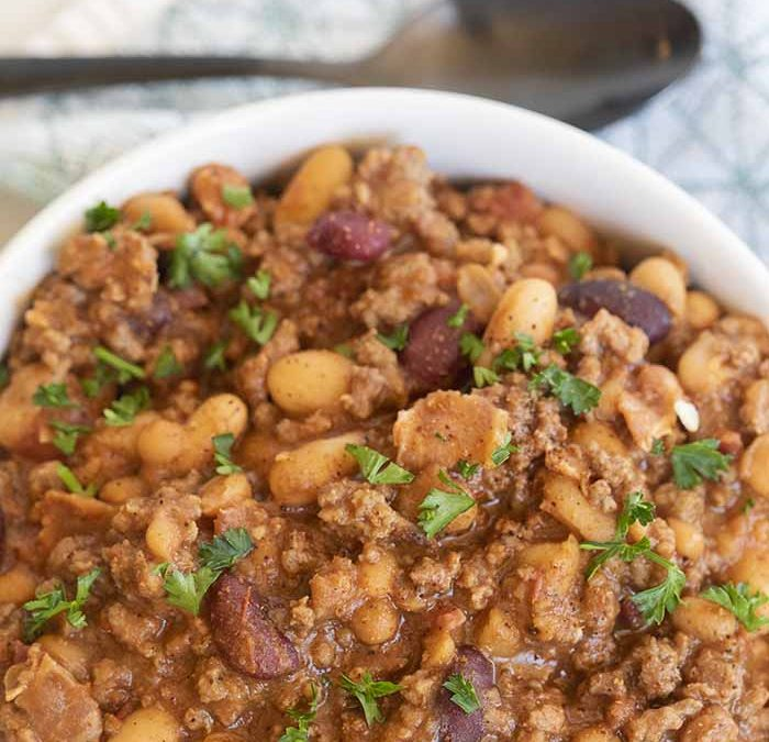 Crock pot Beef and Beans Recipe