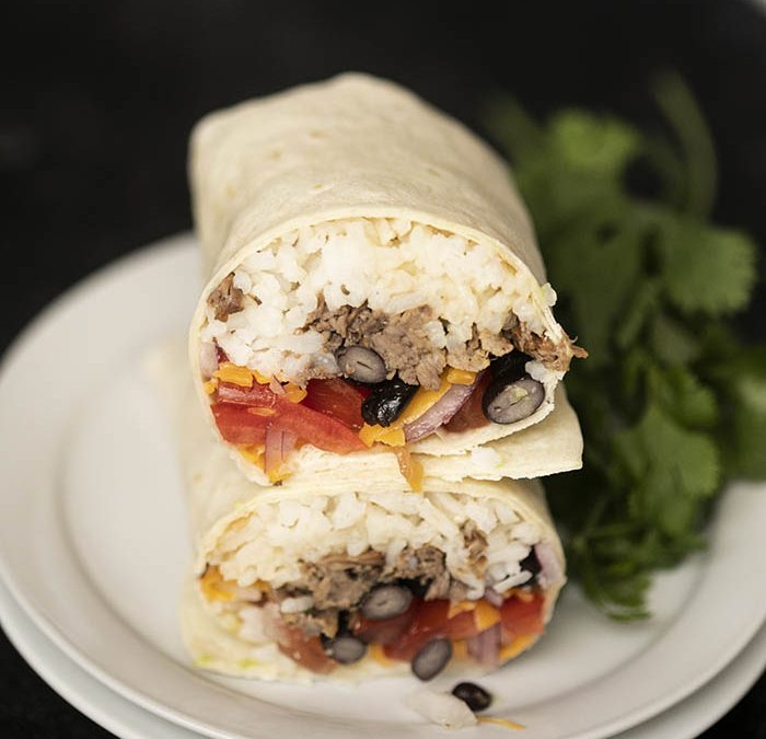 Instant Pot Barbacoa Beef Burritos