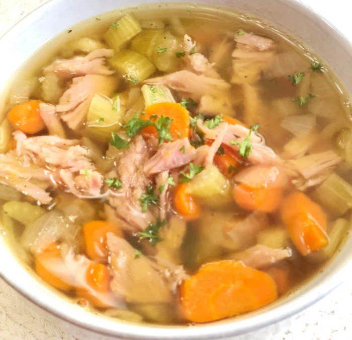 Instant pot Ham and Pea Soup