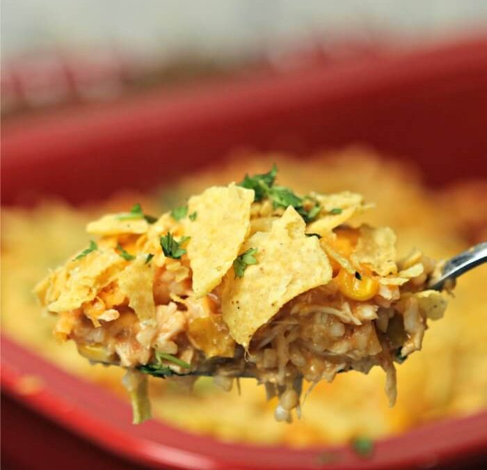Instant Pot Nacho Chicken Casserole Recipe