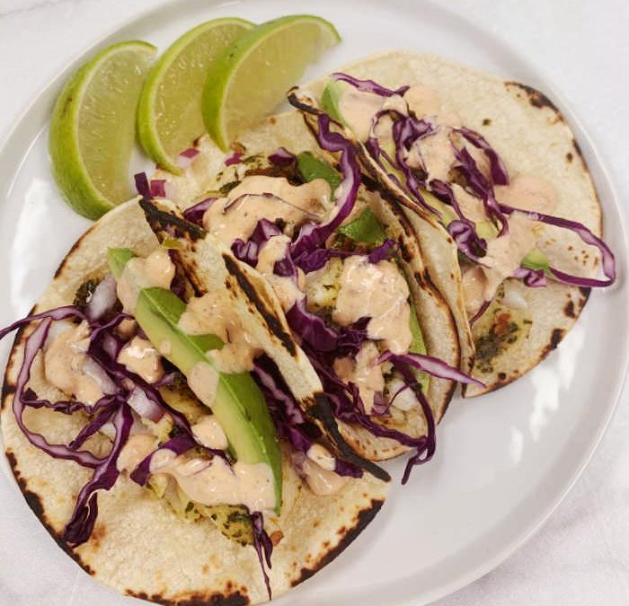 Instant Pot Chipotle Fish Tacos